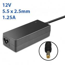 Cargador Escaner Hp 12V 1.25A
